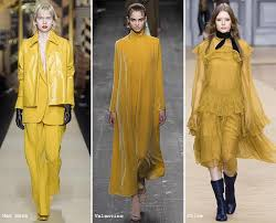 2017 color trend fashion fall winter 2016 2017 color trends mustard pantone and fall winter