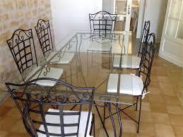 table de cuisine en fer forgé meuble bas cuisine 120 cm pas cher 18 table a manger fer forge