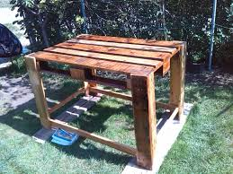 kitchen adorable pallet bench how to make a pallet end table