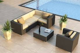 Wicker Sectional Patio Furniture by Deep Seating Wicker Patio Furniture Sets I Spacious Design