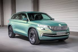 renault suv concept skoda vision s concept review becoming the kodiaq auto express