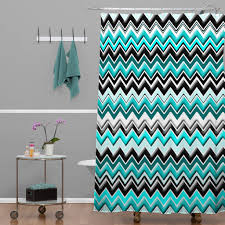 Gray And Turquoise Curtains Turquoise Chevron Curtain Panels Affordable Modern Home Decor