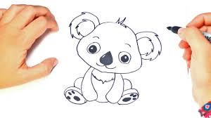 how to draw a kawaii koala kawaii koala easy draw tutorial youtube