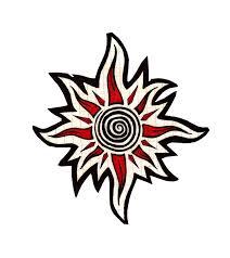 best tatto design tribal sun designs
