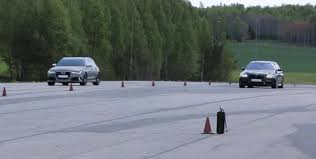 bmw vs audi race tuned bmw f10 m5 takes on 690 hp audi rs6 avant autoevolution