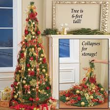 collapsible pop up tree 6 ft from collections etc