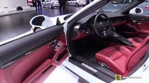 porsche s convertible 2017 porsche 911 turbo s convertible at 2016 detroit auto