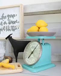 Vintage Kitchen Scales Vintage Kitchen Scales Makeover Refresh Restyle