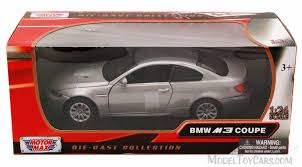 bmw model car bmw e92 m3 coupe silver motormax 73347 1 24 scale diecast