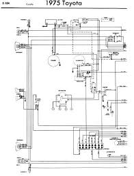 toyota corolla 1975 wiring diagrams owner guide manual
