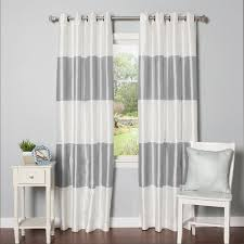 Striped Blackout Curtains Found It At Wayfair Striped Blackout Thermal Curtain Panels