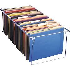 file cabinet folder hangers oic hanging file folder frames letter 6 pack staples