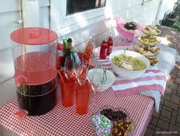 how to set up a buffet table celebrations our way to eat i set up a buffet table on the patio so