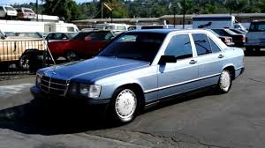 1985 mercedes benz 2 owner 190e classic youngtimer w201 baby benz