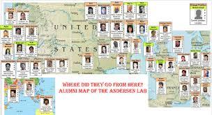 Arizona State University Map by Lab Alumni Caltech Andersen Lab