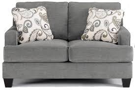 Ashley Furniture Yvette Steel Love Seat w Loose Seat Cushions