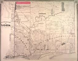 Map Of Toronto Don Watcher Historical Map Of Crothers U0027 Woods