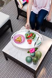 Ikea Pink Plates by 6 Ways Upgrading Your Outdoor Space With Ikea Can Boost Your Mood