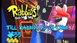 rabbids go home wii part 33 till rabbids do us cart youtube