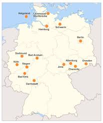 Darmstadt Germany Map by Cities And Places In Germany