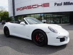porsche 911 certified pre owned certified pre owned 2015 porsche 911 gts convertible in parsippany