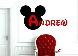 mickey mouse bedroom decor atp pinterest mickey magnificent mickey mouse wall decor stickers motif wall art and