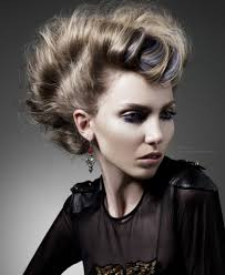 punk updo hairstyles pictures of rainbow short punk hairstyles