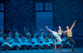 swans home theater stage and cinema dance review swan lake the joffrey ballet in