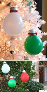giant balloon christmas lights and ornaments diy holiday home decor