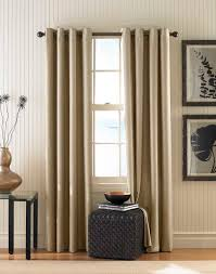 Linen Burlap Curtains Home Tips Absolute Privacy And Relax With Crate And Barrel