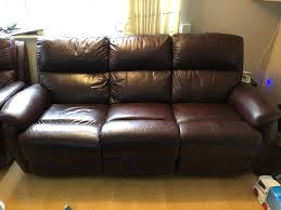 Power Reclining Leather Sofa 3 Seat Power Reclining Leather Sofa And Single Seat Power