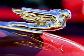 1941 cadillac ornament photograph by reger