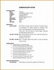 An Example Of Resume by Top 25 Best Example Of Cv Ideas On Pinterest Resume Ideas