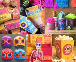 dia de los muertos decorations day of the dead party advice free printable party check list