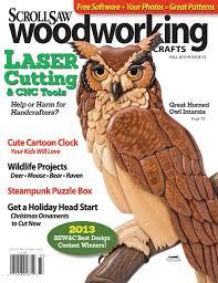 scroll saw woodworking u0026 crafts issue 52 fall 2013 fox chapel