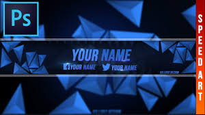 youtube banner template for free speed art you can change