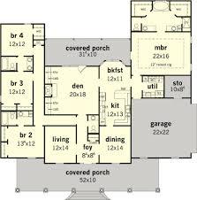 4 br house plans 4 bedroom house plans home design ideas