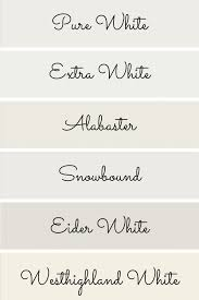 what is the most popular white for trim the best white paint colors from sherwin williams