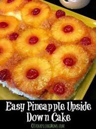 best 25 upside down pineapple cake easy ideas on pinterest
