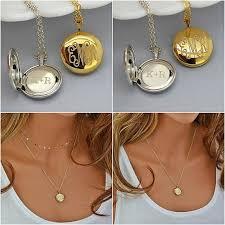 Monogram Locket Necklace Más De 25 Ideas Increíbles Sobre Silver Locket Necklace En