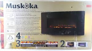 muskoka alton electric fireplace manual ideas