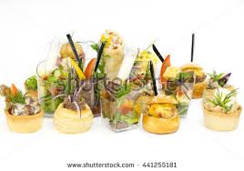 mini canape mini canape vegetables plastic cups stock photo royalty free