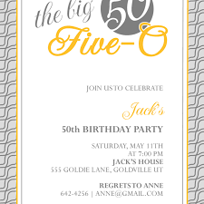 50th birthday invitations australia invitations templates