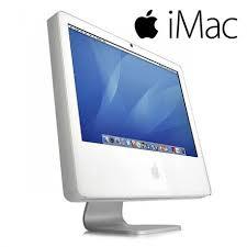 ordinateur de bureau apple ordinateur fixe tout en un apple imac a1195 core2duo pc remis à