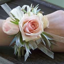 blush rose wrist corsage vogue flowers and gifts