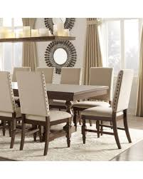 Classic Dining Chairs Spectacular Deal On Flatiron Nailhead Upholstered Dining Chairs