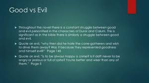 cone gatherers vs evil quotes