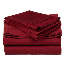 Egyptian Cotton Percale Sheets Tribeca Living 350tc Egyptian Cotton Percale 4 Piece Sheet Set
