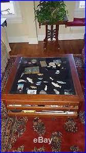 bob timberlake glass top coffee table bob timberlake glass top solid cherry wood display coffee table