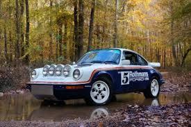 rothmans porsche 911 1983 porsche 911 scrs rothman rally for sale photos technical